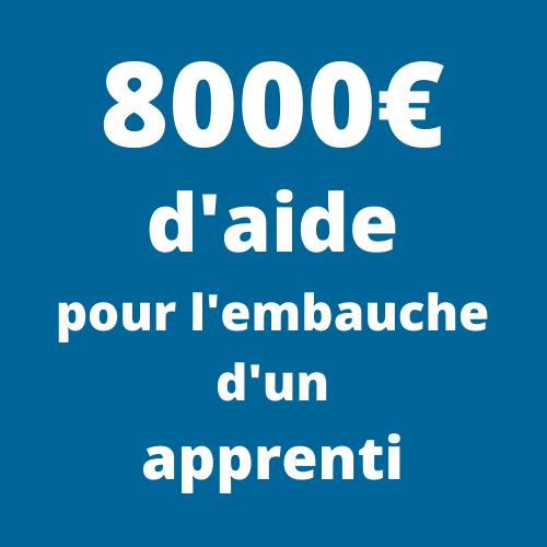 8000 euros d'aides